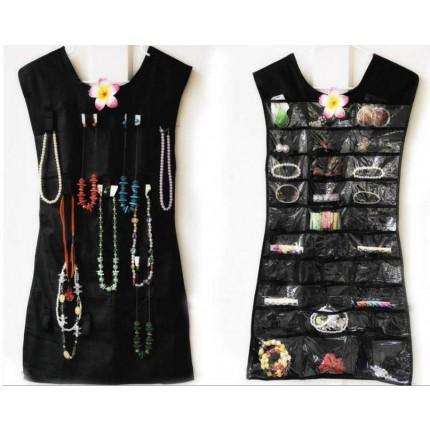 Платье органайзер для украшений бусин бижутерии