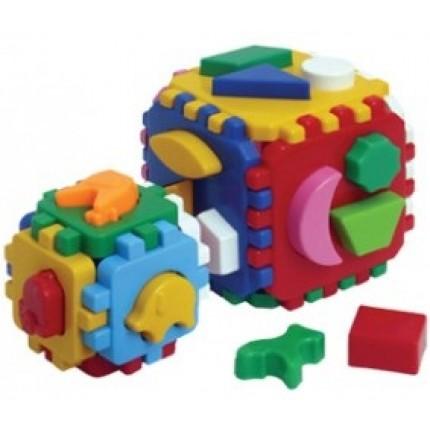 Куб сортер Умный малыш (большой+маленький)
