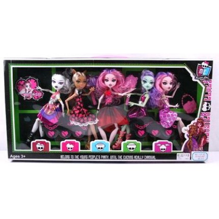 Кукла Monster High (5шт в наборе)