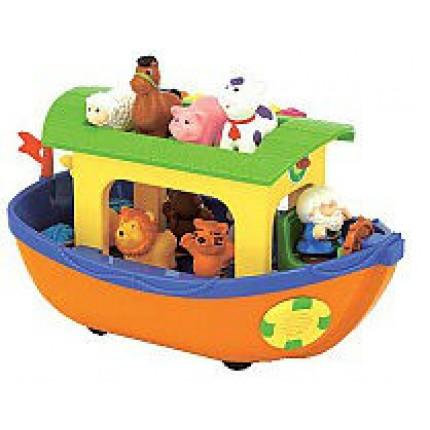 Игровой набор - НОЕВ КОВЧЕГ (на колесах, озвуч. укр. яз.) от Kiddieland - preschool - под заказ