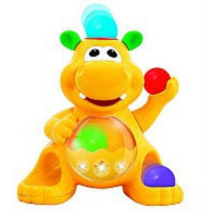 Игрушка - ГИППОПОТАМ-ЖОНГЛЁР (звук) от Kiddieland - preschool - под заказ