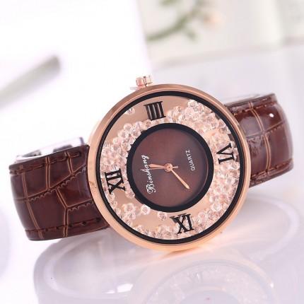 Часы женские Amni Star Шоколад 090-4