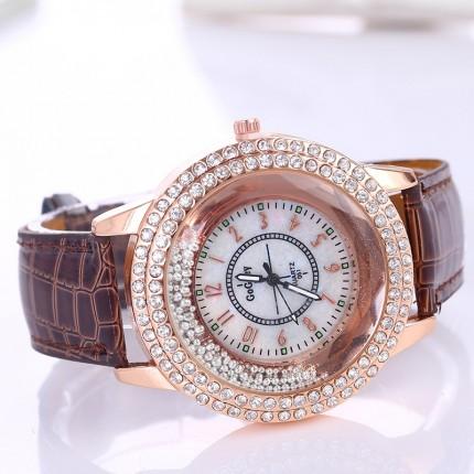 Женские часы gogoey Crystal россыпь шоколад 51-03