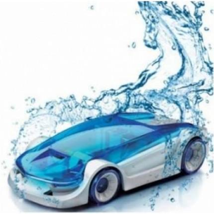 Конструктор Машинка, работает от соленой воды.