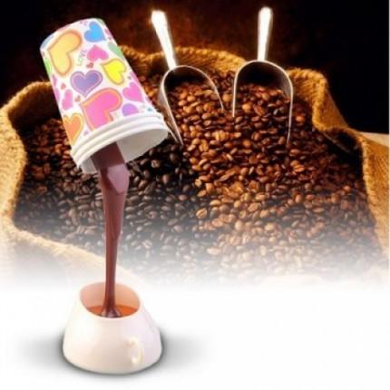 Лампа ``Выливающийся кофе`` (стакан с кофе)