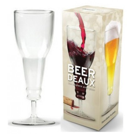 Бокал для пива ``Перевернутая бутылка`` (0,3л)