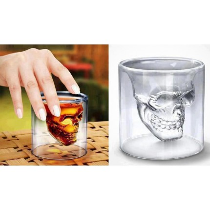 Оригинальный стакан в виде черепа (уценка)