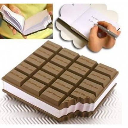 Блокнот с запахом шоколада