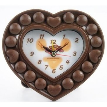 Часы ``шоколадные`` Сердце