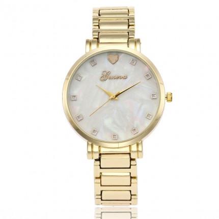 Часы женские Geneva Золотистые 116-2