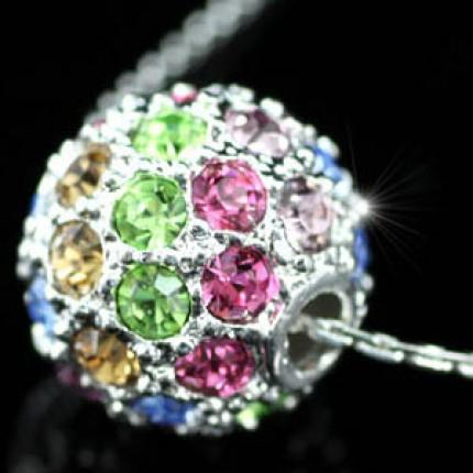 Кулон с цепочкой  Multi-Colour Ball SN092