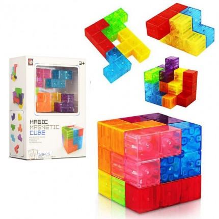 Магнитный конструктор головоломка Кубики Сома