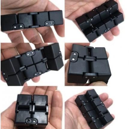 Бесконечный куб infinity cube полностью черный