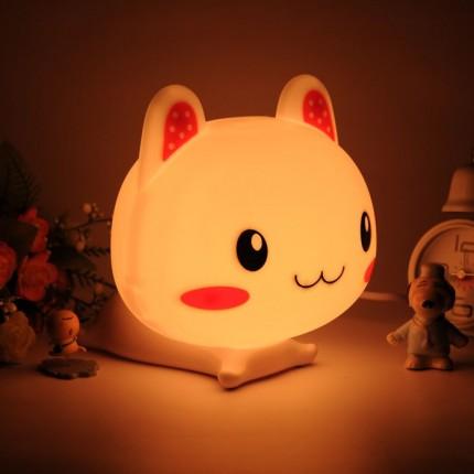 Детская лампа-ночник Котенок