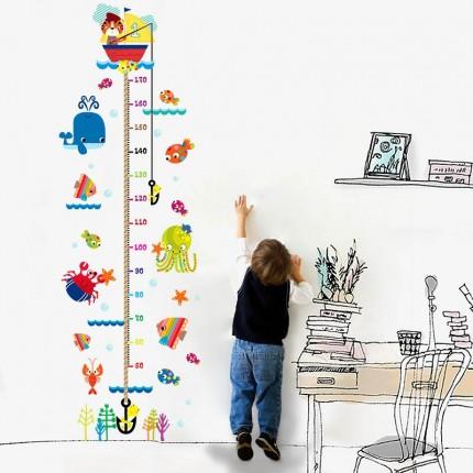 Интерьерная наклейка на стену Детская - Ростомер Морской XH9268