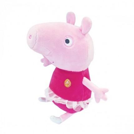 Мягкая игрушка - ПЕППА БАЛЕРИНА (озвуч., 30 см) от Peppa Plush - под заказ