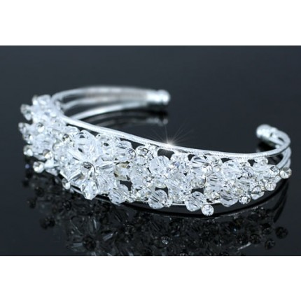Браслет Bridal Pageant Handmade Cuff Bangle use Swarovski Crystal SSB056