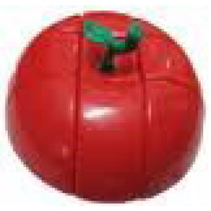 Кубик Рубика - Яблоко (цвет красный)