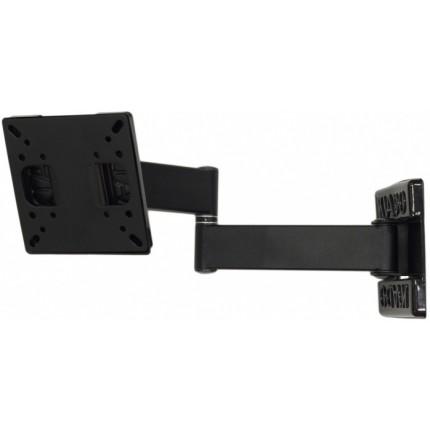 кронштейн Квадо К-22. Наклонно-поворотное (2 колена) настенное крепление для ТВ с VESA до 100х100мм