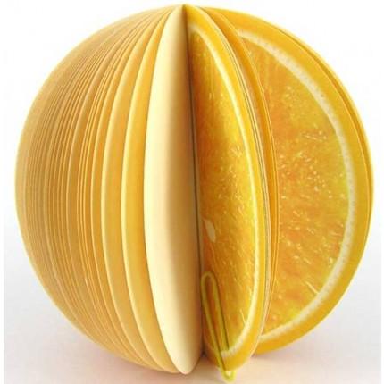 Блокнот - апельсин