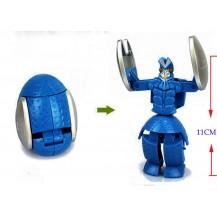 Супер Герой Трансформер Ultraman (синий)