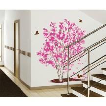 Интерьерная наклейка на стену Сакура XY1161