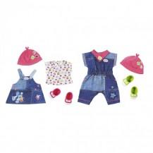 Набор одежды для куклы BABY BORN - МОДНЫЙ ДЖИНС  (2 в ассорт.) от Zapf - под заказ
