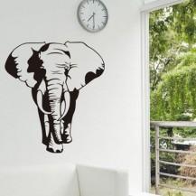 Интерьерная наклейка на стену Слон XY1088