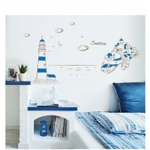 Интерьерная наклейка на стену Море AY9185
