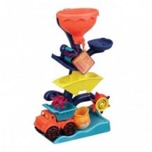 Набор для игры с песком и водой - МЕЛЬНИЦА (в комплекте машинка, ведерце) от Battat - под заказ