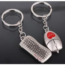 Парные брелки для влюбленных - Мышка и Клавиатура