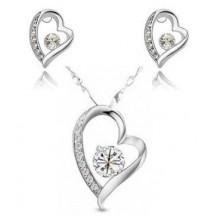 Набор Сердечки Crystal (ab135)