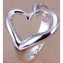 Кольцо Tiffany Размер 18 (TF20). Покрытие серебром 925