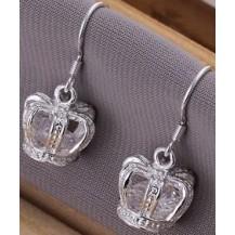 Серьги Tiffany (TF24). Покрытие серебром 925
