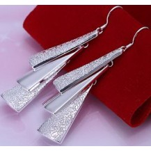Серьги Tiffany (TF31). Покрытие серебром 925