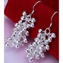 Серьги Tiffany (TF42). Покрытие серебром 925