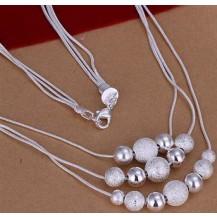 Колье Tiffany (TF43). Покрытие серебром 925