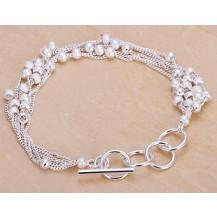 Браслет Tiffany (TF46). Покрытие серебром 925