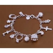 Браслет Tiffany (TF49). Покрытие серебром 925