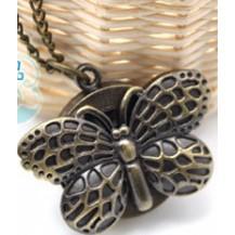 Часы Бабочка на длинной цепочке (C10)