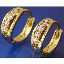 Серьги Gold Filled с цирконами (GF20)