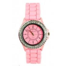 Часы женские GENEVA Luxury Женева Розовые