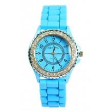 Часы женские GENEVA Luxury Женева Голубые