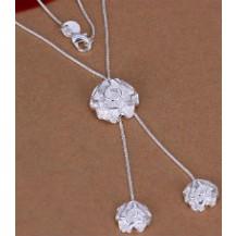 Колье Tiffany. Покрытие серебром 925 (TF102)