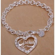 Браслет Tiffany (TF89). Покрытие серебром 925