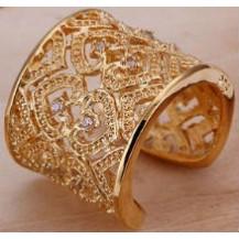 Кольцо Tiffany (TF77). Позолота 18к Размер 17-18