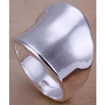 Кольцо Tiffany (TF82). Покрытие серебром 925 размер 18