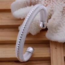 Браслет Tiffany (TF93). Покрытие серебром 925