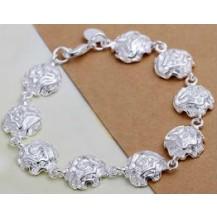 Браслет Tiffany (TF87). Покрытие серебром 925