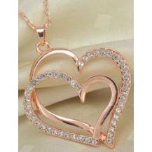 Кулон Сердце на цепочке (ab207)